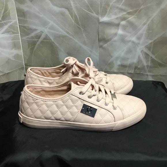 Pink G By Guess Tennis Shoes